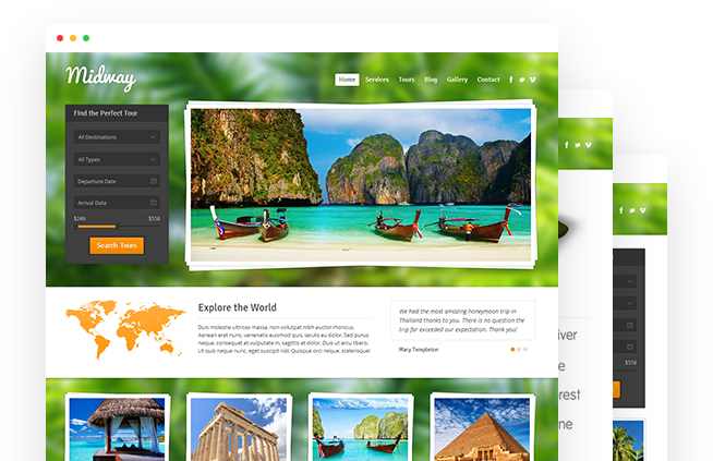 Midway – Travel WordPress Theme